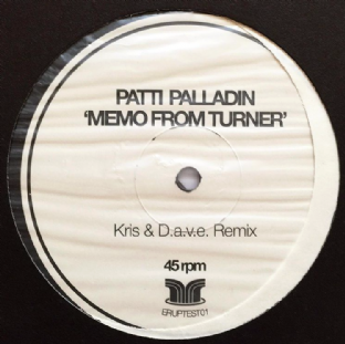 "Patti Palladin - Memo From Turner (12"") (Promo/Test Pressing) (EX+/VG+)"